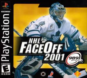NHL FaceOff 2001 - PlayStation - Used