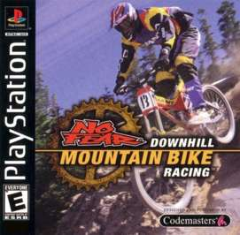 No Fear Downhill Mountain Bike Racing - PlayStation - Used