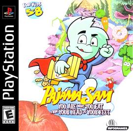 Pajama Sam: You Are What You Eat From Your Head To Your Feet - PlayStation - Used