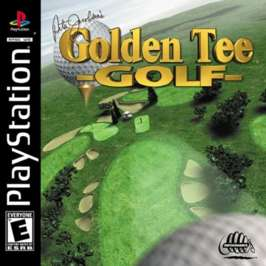 Peter Jacobsen's Golden Tee Golf - PlayStation - Used