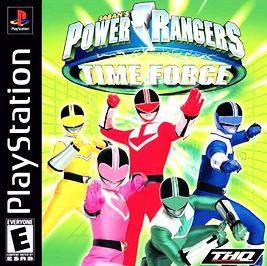 Power Rangers Time Force - PlayStation - Used