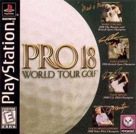 Pro 18: World Tour Golf - PlayStation - Used