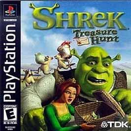 Shrek: Treasure Hunt - PlayStation - Used