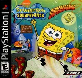 SpongeBob Squarepants: SuperSponge - PlayStation - Used