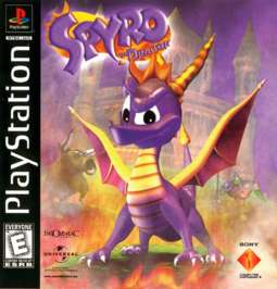 Spyro the Dragon - PlayStation - Used