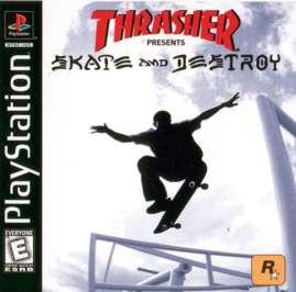 Thrasher: Skate and Destroy - PlayStation - Used