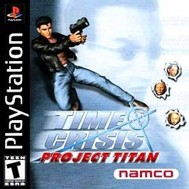 Time Crisis: Project Titan (With Gun) - PlayStation - Used