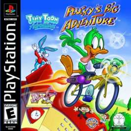 Tiny Toon Adventures: Plucky's Big Adventure - PlayStation - Used