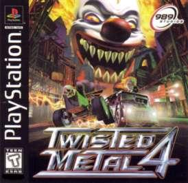 Twisted Metal 4 - PlayStation - Used