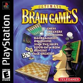Ultimate Brain Games - PlayStation - Used