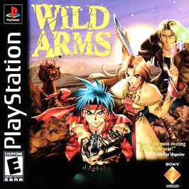 Wild ARMs - PlayStation - Used