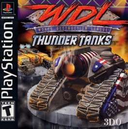 World Destruction League: Thunder Tanks - PlayStation - Used