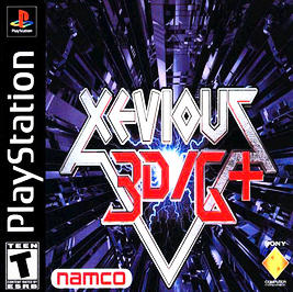 Xevious 3D/G+ - PlayStation - Used