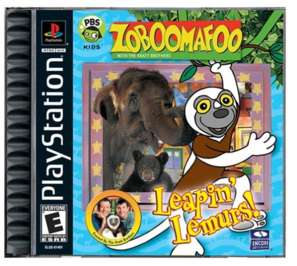 Zoboomafoo: Leapin' Lemurs! - PlayStation - Used