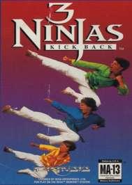3 Ninjas Kick Back - Sega Genesis - Used