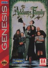 Addams Family - Sega Genesis - Used