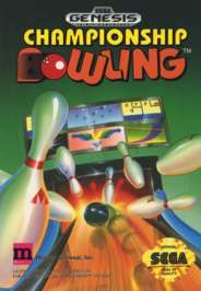 Championship Bowling - Sega Genesis - Used