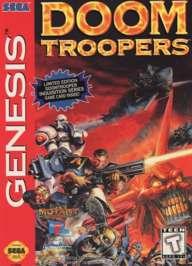 Doom Troopers - Sega Genesis - Used