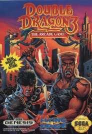 Double Dragon III: The Arcade Game - Sega Genesis - Used
