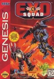 Exo Squad - Sega Genesis - Used