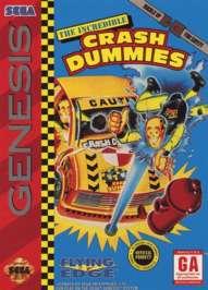 Incredible Crash Dummies - Sega Genesis - Used