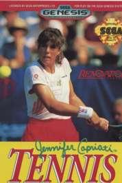Jennifer Capriati Tennis - Sega Genesis - Used