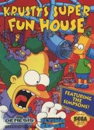 Krusty's Super Fun House - Sega Genesis - Used