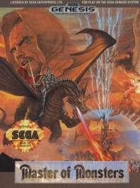 Master of Monsters - Sega Genesis - Used