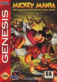 Mickey Mania: The Timeless Adventures of Mickey Mouse - Sega Genesis - Used