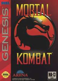Mortal Kombat - Sega Genesis - Used