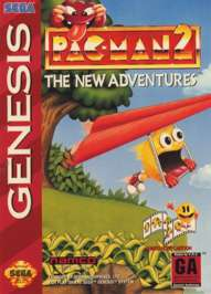 Pac-Man 2: The New Adventures - Sega Genesis - Used