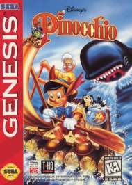 Pinocchio - Sega Genesis - Used