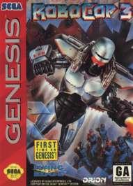 Robocop 3 - Sega Genesis - Used