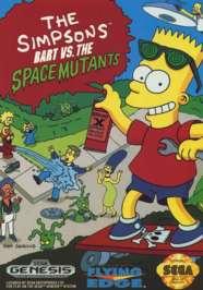 Simpsons: Bart vs. the Space Mutants - Sega Genesis - Used