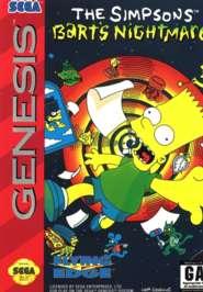 Simpsons: Bart's Nightmare - Sega Genesis - Used