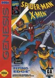Spider-Man - X-Men: Arcade's Revenge - Sega Genesis - Used