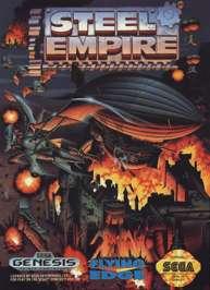 Steel Empire - Sega Genesis - Used