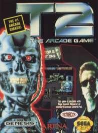 T2: The Arcade Game - Sega Genesis - Used