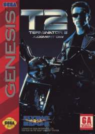 Terminator 2: Judgment Day - Sega Genesis - Used
