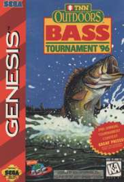 TNN Outdoors Bass Tournament '96 - Sega Genesis - Used