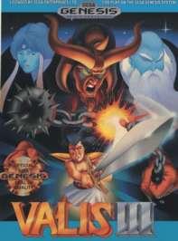 Valis III - Sega Genesis - Used