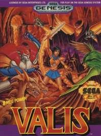 Valis: The Fantasm Soldier - Sega Genesis - Used