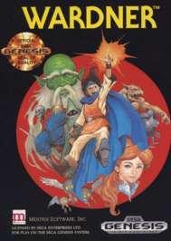 Wardner - Sega Genesis - Used