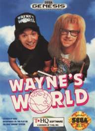 Wayne's World - Sega Genesis - Used
