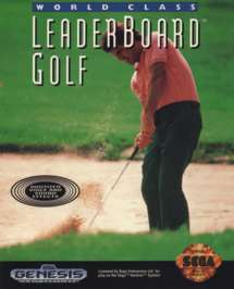 World Class Leader Board Golf - Sega Genesis - Used