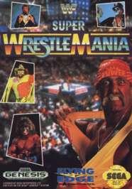 WWF Super Wrestlemania - Sega Genesis - Used