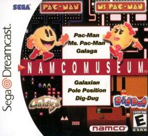 Namco Museum - Dreamcast - Used