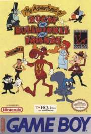 Adventures of Rocky and Bullwinkle and Friends - Game Boy - Used