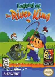 Legend of the River King - Game Boy - Used