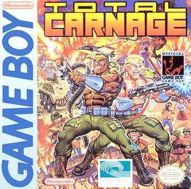 Total Carnage - Game Boy - Used